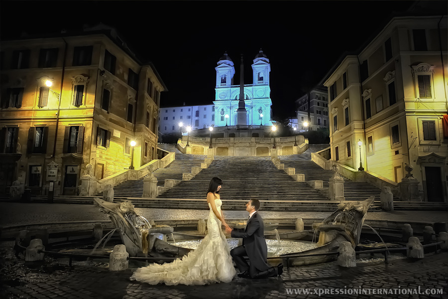 Wedding in Rome, Italy